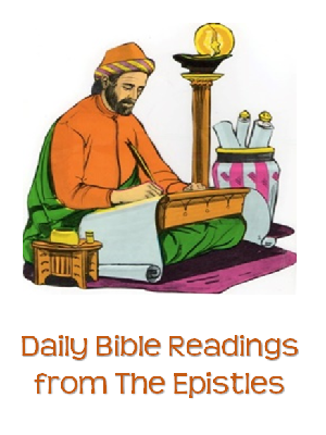 Daily Bible readings from the Epistles