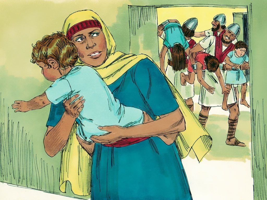 Jehosheba and family tragedies