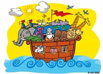 cute Noah's ark