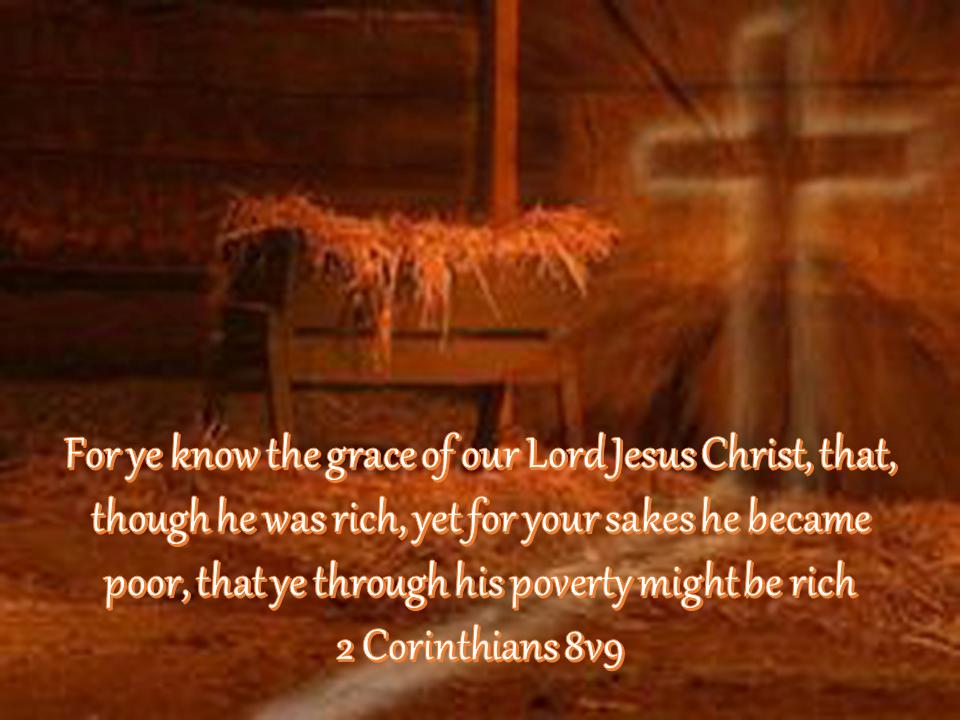 2 Corinthians 8v9
