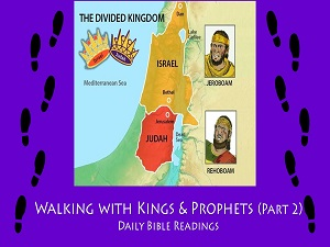 Index to Bible readings from divided kingdom period