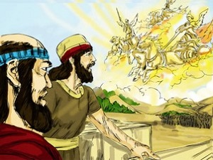 Elisha and the Syrians